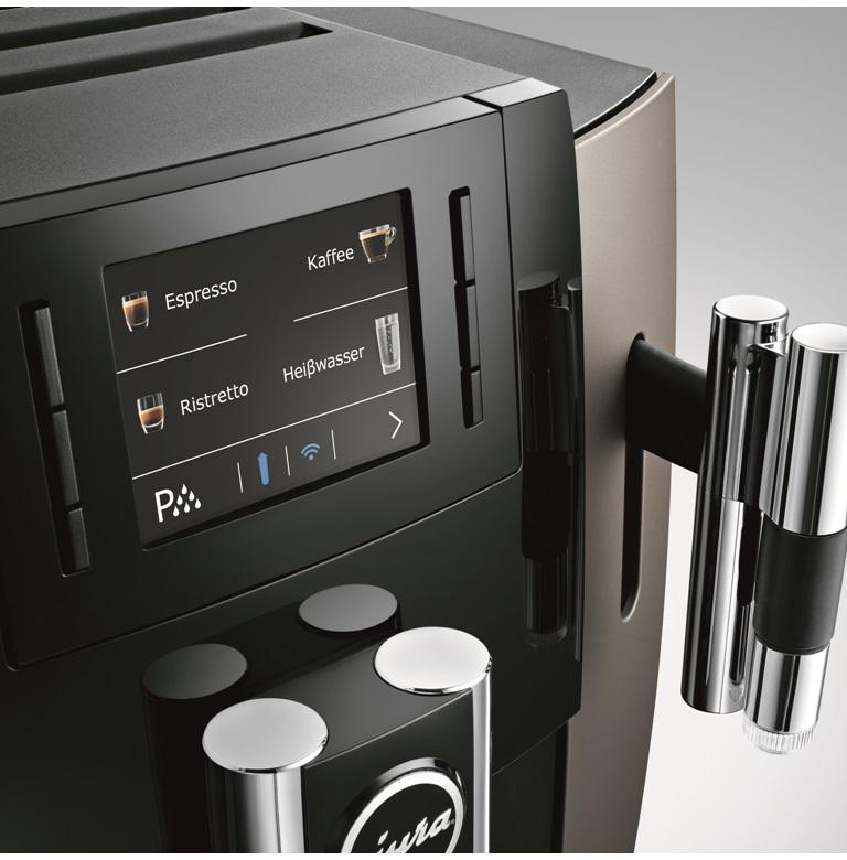 Кофемашина E8 Dark