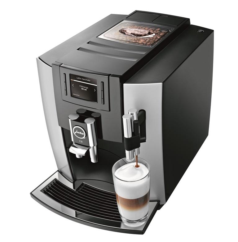 Кофемашина IMPRESSA E8 Platin