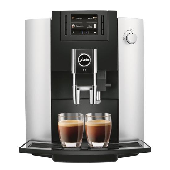 Кофемашина E6 Platin