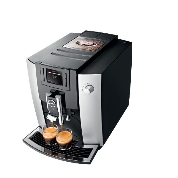 Кофемашина IMPRESSA E6 Platin