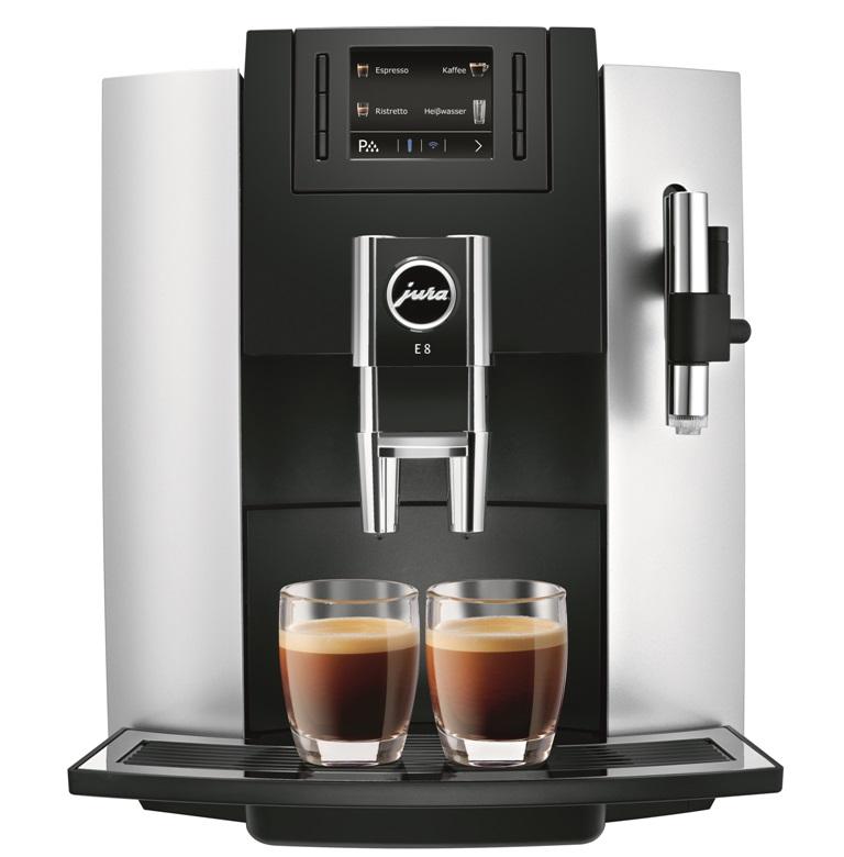 Кофемашина E8 Platin