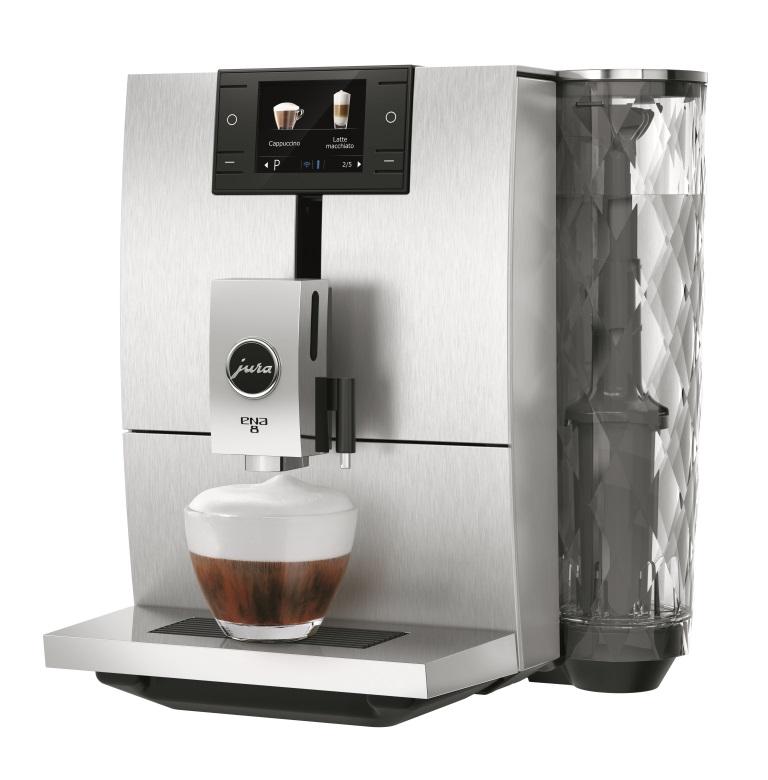 Кофемашина ENA 8 Massive Aluminium
