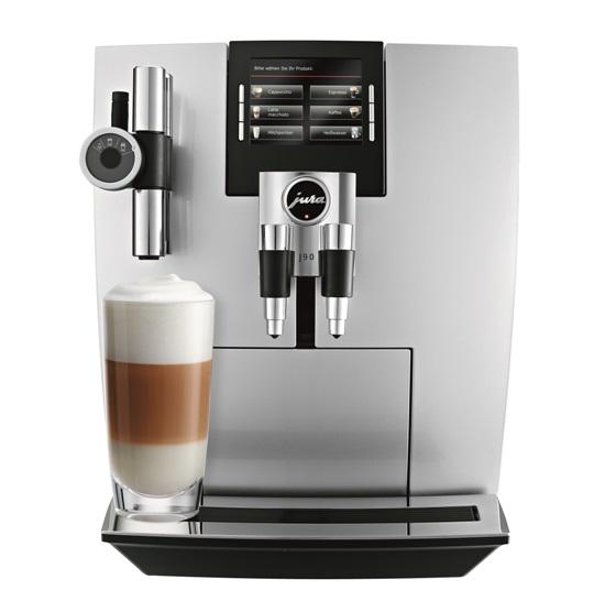 Кофемашина J90 Briliantsilber