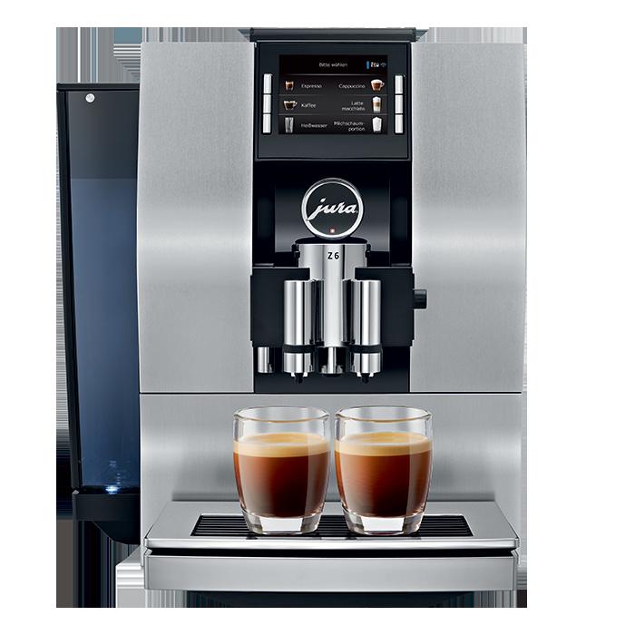 Кофемашина Z6 Satinsilber