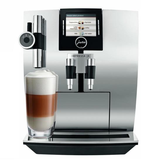 Кофемашина IMPRESSA J9.3 Chrome